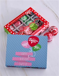 gifts: Personalised Birthday Sweetie Pie Box!