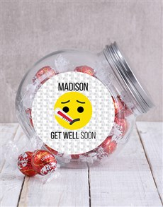 gifts: Personalised Get Well Emoji Candy Jar!