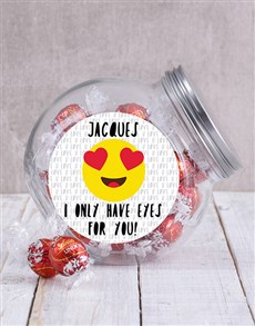gifts: Personalised Eyes For You Candy Jar!