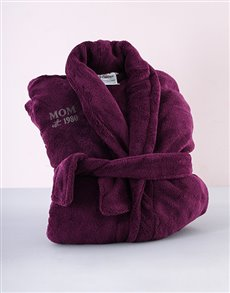 gifts: Personalised Purple Mom Gown!