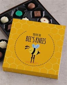 gifts: Personalised Bees Knees Chocolate Tray!