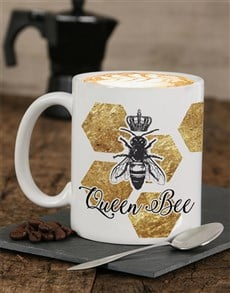 gifts: Personalised Queen Bee Mug!
