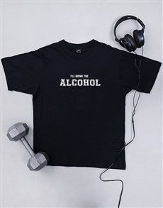 gifts: Personalised Bring The Alcohol T Shirt!