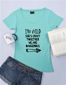 gifts: Personalised Im Wild Shirt!