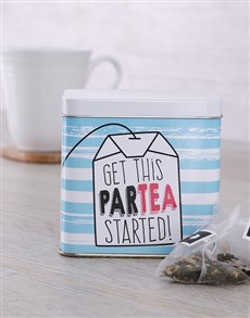 gifts: Personalised Partea Tea Tin!