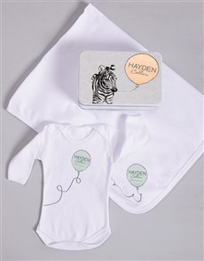 gifts: Personalised Zebra Spoils Gift!