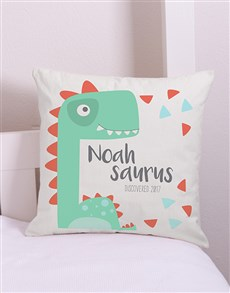gifts: Personalised Saurus Scatter Cushion!