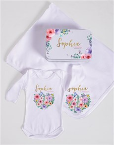 gifts: Personalised Floral Spoils Gift!