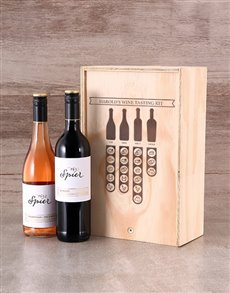gifts: Personalised Wine Tasting Kit Crate!