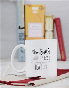 gifts: Personalised Best Teacher Mug!