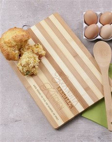 gifts: Personalised Grandmas Kitchen Chopping Board!