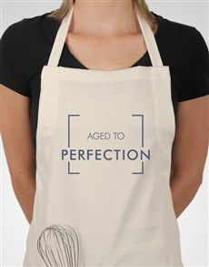 gifts: Personalised Aged To Perfection Apron!