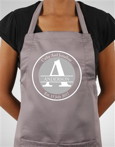 gifts: Personalised Family Name Apron!
