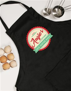 gifts: Personalised Love Served Apron!