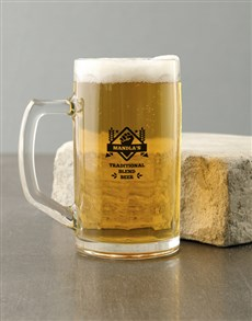 gifts: Personalised Brewing Beer Mug!