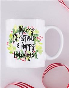 gifts: Personalised Happy Holidays Mug!