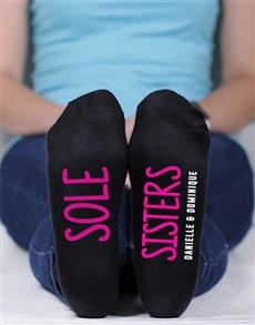 gifts: Personalised Sole Sisters Socks!