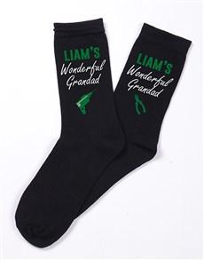 gifts: Personalised Wonderful Grandad Socks!