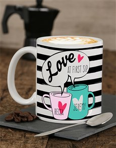 gifts: Personalised First Sip Mug!