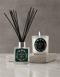 gifts: Personalised Love Joy Candle!