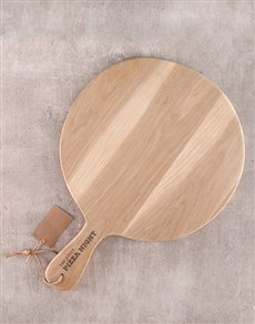 gifts: Personalised Pizza Paddle!