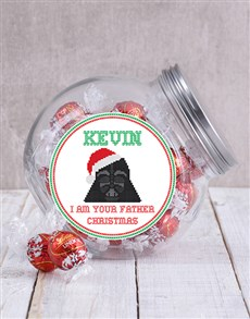 gifts: Personalised Star Wars Christmas Candy Jar!