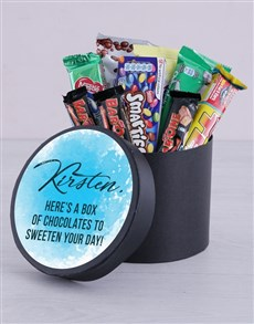 gifts: Personalised Sweeten Your Day Hat Box!