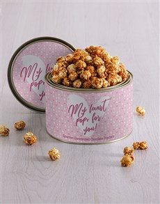 gifts: Personalised My Heart Popcorn Tin!