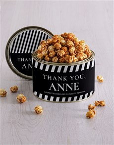 gifts: Personalised Thank You Popcorn Tin!