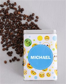 flowers: Personalised Get Well Coffee Tin!