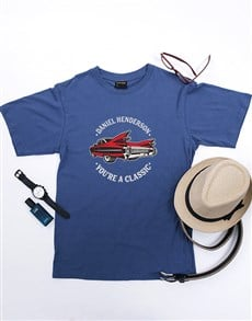 gifts: Personalised Car T Shirt!