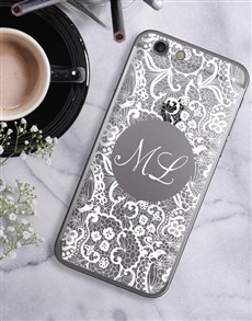 gifts: Personalised Lace iPhone Cover!