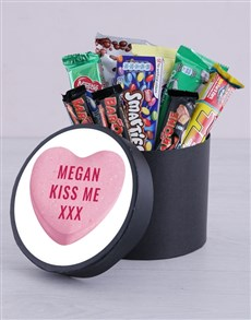 gifts: Personalised Kiss Me Hat Box!