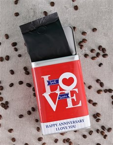 gifts: Personalised Love Coffee Tin!