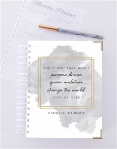 gifts: Personalised Purpose Driven Journal!