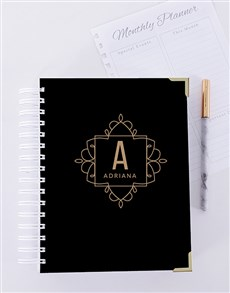 gifts: Personalised  Initial Journal!
