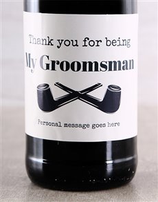 gifts: Thank You For Being Personalised Wine Masculine!
