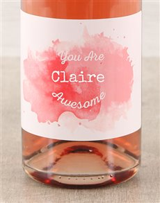 gifts: You Are Awesome Rose Bubbly!