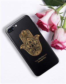 gifts: Personalised Hamsa iPhone Cover!