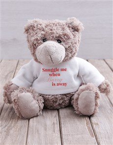 gifts: Personalised Snuggle Me Teddy!