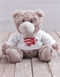gifts: Personalised Love and Cuddles Teddy!
