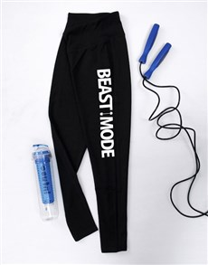 gifts: Personalised Beast Mode Gym Leggings!