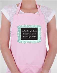 gifts: Personalised Chalkboard Apron!