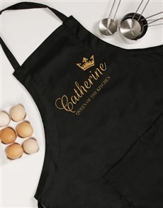 gifts: Personalised Queen Apron!