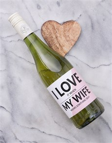 gifts: Personalised Wife Wine!