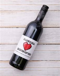 gifts: 8 Bits of You Personalised Wine!