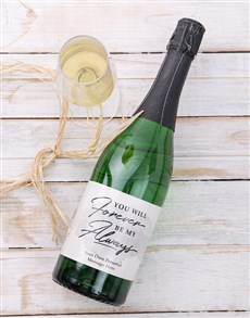 gifts: Personalised Forever and Always Wine!