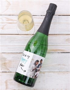 gifts: Personalised Happy Place Photo Wine!