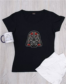 gifts: Personalised Floral Trooper Shirt!