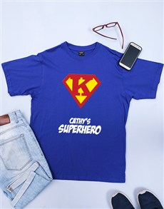 gifts: Personalised Her Superhero Shirt!